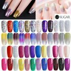 7.5ml Soak Off UV Gel Nail Polish Glitter Color Gel Varnish Base Coat UR SUGAR