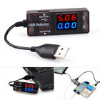 Voltage Current Meter LED Digita USB Tester Power Detector HR Voltmeter Ammeter