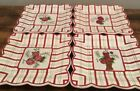 4Market Pllates Plaid Pattern With Flowers In The Midle Excellent