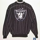Vintage 90's NFL RAIDERS The GAME Heavy Sweatshirt FRONT PATCH NEW Old Stock LGE