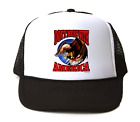 Trucker Hat Cap Foam Mesh Patriotic Don't Mess With America American Eagle