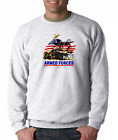 Gildan Long Sleeve T-shirt Armed Forces Because Freedom Isn't Free Patriotic