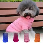 Pet Dog Puppy Warm Clothes Cat Shirt Winter Sweater Clothing Jacket Coat Apparel