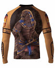 Raven Fightwear Men's Horus MMA BJJ Rash Guard Black