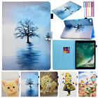 For iPad 9.7 2018/Air 1 2 Cute Magnetic Smart Leather Card Flip Stand Case Cover
