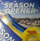4 PACK WISCONSIN DELLS SEASON OPENER CARDS  FREE CIRCUS WORLD TOMMY BARTLETT фото