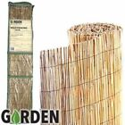 1 x 4M Garden Reed Fencing Ideal For Screening Walls & Fences