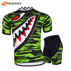 New Men Cycling Jersey Pants Bicycle Bike Set Outdoor Sports Short Sleeve Suits