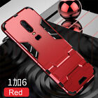 For OnePlus 8 6T 6 5 5T 7T Nord Kickstand Shockproof Armor Thin Hard Case Cover