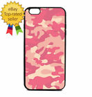 Pink Army Camouflage Print Phone Case Galaxy S Note Edge iPhone 5 6 7 8 9 X +