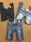 Lot Holliater Jean Lefgings Size waist 26 and 27