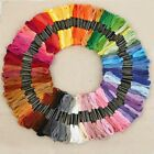 150 Multi Colors Cross Stitch Cotton Embroidery Thread Floss Sewing Skeins USA