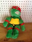 "VINTAGE TEENAGE MUTANT NINJA TURTLE 14"" RAPHAEL STUFFED PLUSH         #8166"