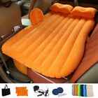 Inflatable Car Air Mattress Camping Inflation Bed Travel Air Bed Car Back Seat