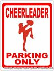 Cheerleader Parking Only Sign. Fun Cheer Leader Decor. For Pep Squad & Captains