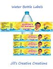Moana water bottle labels, Moana, bottle labels, Party favors, Birthday, Yellow