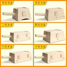 Without Pain Wooden Moxa Roll Burner Box Wood Moxibustion Box Moxibustion Tool
