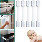 5X Baby Child Safety Locks Toddler Proof Strap Latches For Cabinets Drawers US2