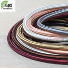 Vintage 3Core Lighting Multi Fabric 0.75mm Flexible Cable - Braided Round Cord