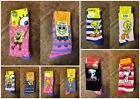 2 Pack Ladies Novelty Character Socks Spongebob Tweety Pie Snoopy Size UK 4-8