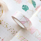 5M Foil Paper Washi Tape Kawaii Stationery Scrapbooking Decorative Tapes w/ Box on eBay