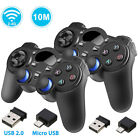 1/2 Pack 2.4G Wireless Gaming Controller Gamepad for Android Tablets Phone PC TV