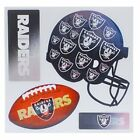 NFL 3-D Holographic 4 Team Magnet Redskins, Raiders, Falcons, Bengals, Chargers $3.25 USD on eBay