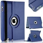 Leather 360&deg; Rotating Smart Stand Case Cover For APPLE iPad 2/3/4 Air Mini PRO <br/> Free Stylus✔iPad 9.7(2018)in Stock✔Free &amp; Fast UK Post✔