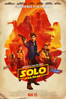 "Solo A Star Wars Story Poster 36x24"" 2018 IMAX Movie Han Chewbacca Print Silk $17.89 CAD on eBay"