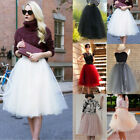 rockabilly kids dresses - Women Princess Ballet Tulle Pleated Skirt Wedding Prom Rockabilly Fancy Dress