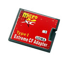 Micro SD SDHC TF to CF Type I Compact Flash Card Reader Adapter new