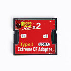 Micro SD SDHC TF to CF Type I Compact Flash Card Reader Adapter