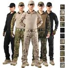 Army Military Uniform Camouflage Tactical Combat Suit Airsof