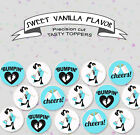 Baby Shower Birth announcement Gender reveal Party cupcake cake Toppers Cup