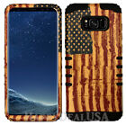 KoolKase Armor Hybrid Silicone Hard Cover case for Cell Phone - AMERICAN FLAG