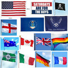 3 x 5ft Large National Country Flag Polyester Banner Decor - Choose Your Country