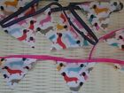 SAUSAGE DOG BUNTING VARIOUS LENGTHS PARTY KENNEL HOME DECOR DACHSHUND DOGS CUTE