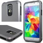 For Samsung Galaxy S5 Shockproof Tough Kickstand Dual Layer Armor Case Cover