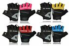 NEW WEIGHT LIFTING GLOVES GYM WORKOUT TRAINING CYCLING FINGER LESS SPORTS GLOVE
