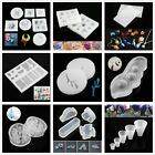 Silicone Mold Pendant Resin Casting Mould Jewelry DIY Craft Necklace Making Kits