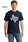 Texas Pride Lone Star State Native Texan Longhorn New Mens Cotton  T-Shirt