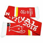 Liverpool SCARF OFFICIAL R Madrid League European Final Champions Kyiv May 2018