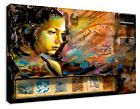 ABSTRACT ART WOMAN CANVAS-POSTER GALLERY-WRAP ART ROOM DECOR STRETCHED