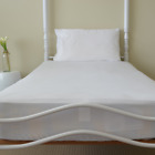 Fitted Waterproof Bamboo Mattress Protector Single