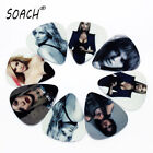 SOACH 10pcs Newest  Rock and roll star Guitar Picks 1.0mm  Guitar Accessories