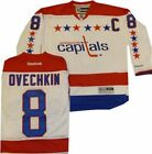 Washington Capitals Alexander Ovechkin Throwback Premier Replica 7185A Jersey