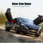 Sound Light 1:32 Metal Lykan Hypersport Pull Back Car Kid Toys For Children