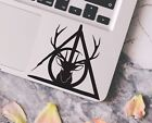 Harry Potter Deathly Hallows Macbook Laptop Car Wall Vinyl D