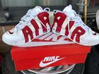 Nike Air Uptempo GS - White/Red - Size 7Y 415082-100 Bulls - Pippen