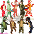 BOYS KIDS ARLO DINOSAUR DRAGON T-REX GREEN RED PRE-HISTORIC FANCY DRESS COSTUME